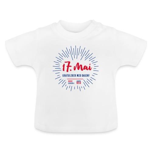 17. mai T-skjorte - Det norske plagg - Baby-T-skjorte