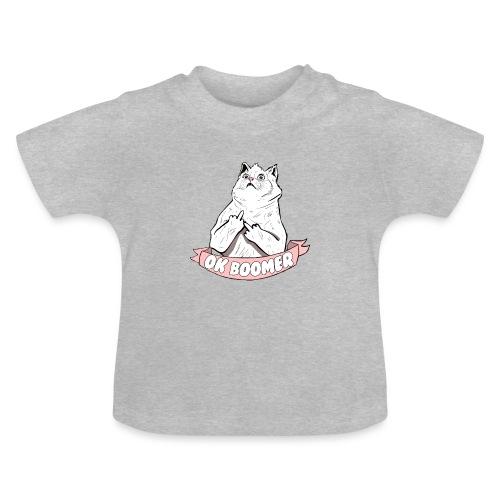 OK Boomer Cat Meme - Baby T-Shirt