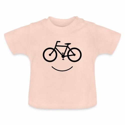 Black Design Love Cycling - Baby T-Shirt
