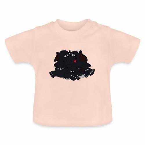 Black Big Family - Baby T-Shirt