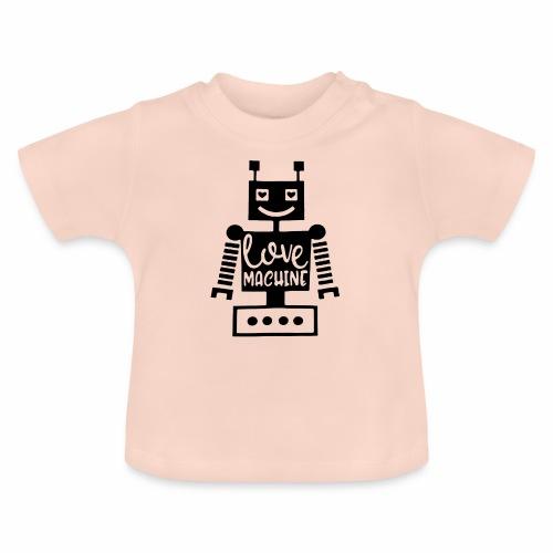 Black Design Love Machine - Baby T-Shirt