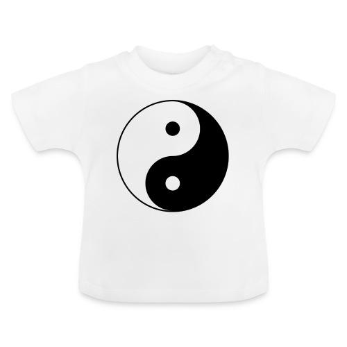 800px Yin yang svg 1 - Baby T-Shirt