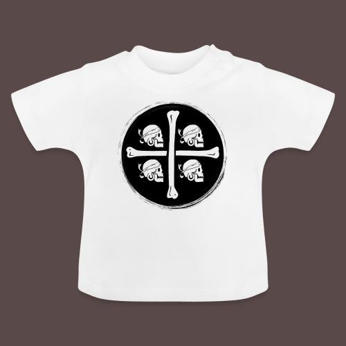 4 Morti - Pirati di Sardegna - Maglietta per neonato