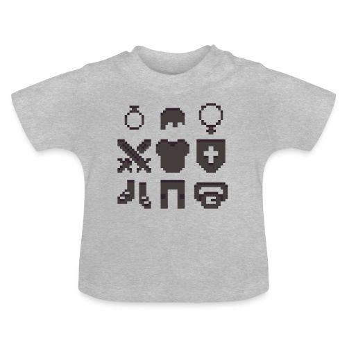 RPG Inventory Slots - Baby T-shirt