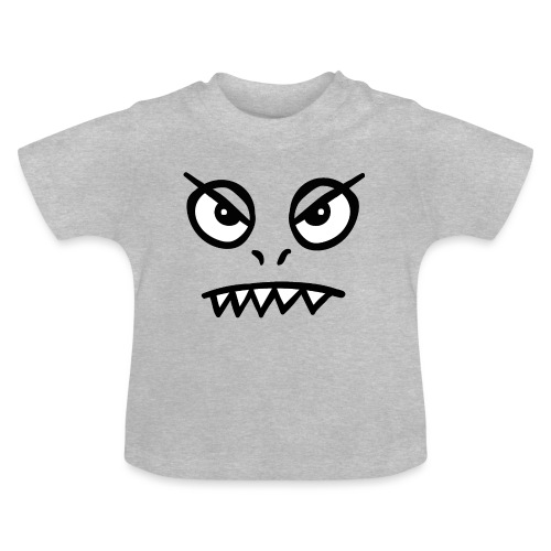 Alien Außerirdischer Monster - Baby T-Shirt