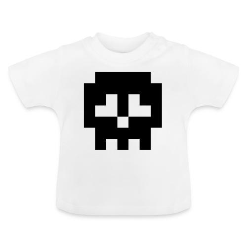 Retro Gaming Skull - Baby T-Shirt