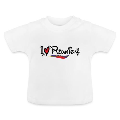 i love Réunion - T-shirt Bébé