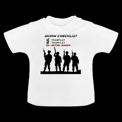 Skirm Checklist - Baby T-shirt