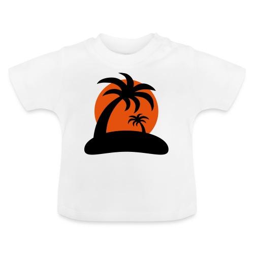 palm island sun - Baby T-shirt