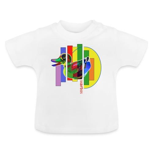 smARTkids - Gutsy Duck - Baby T-Shirt