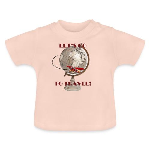 VIAJANDO - Camiseta bebé