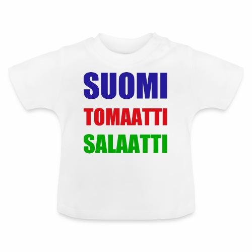 SUOMI SALAATTI tomater - Baby-T-skjorte