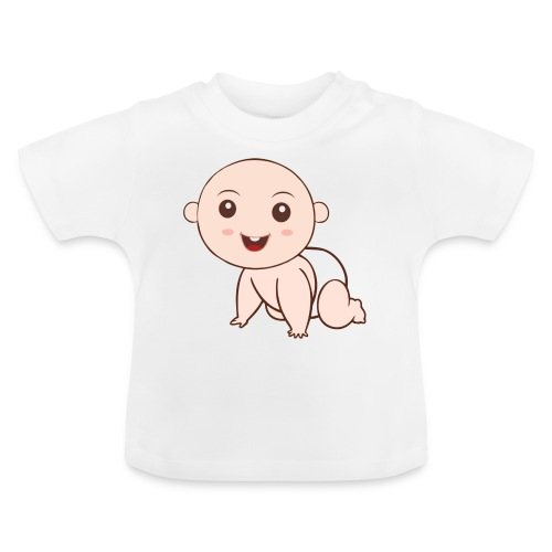 Liegendes Baby - Baby T-Shirt