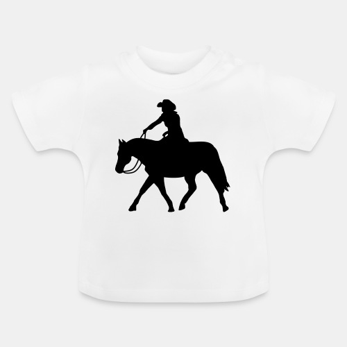 Ranch Riding extendet Trot - Baby T-Shirt