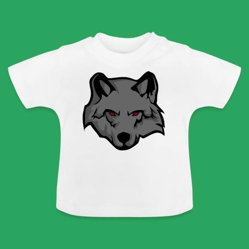 wolf logo - Maglietta per neonato