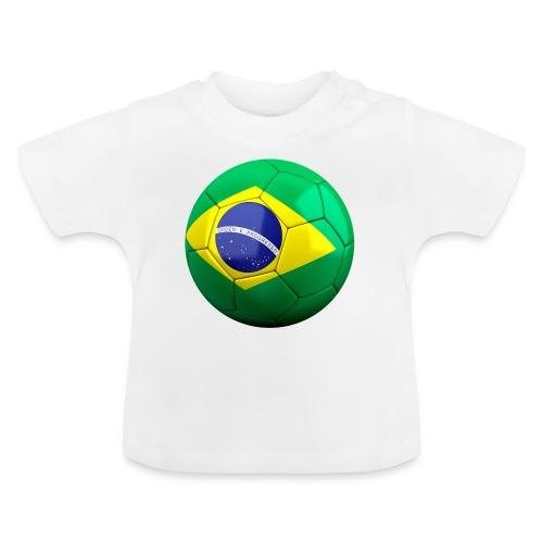 Bola de futebol brasil - Baby T-Shirt