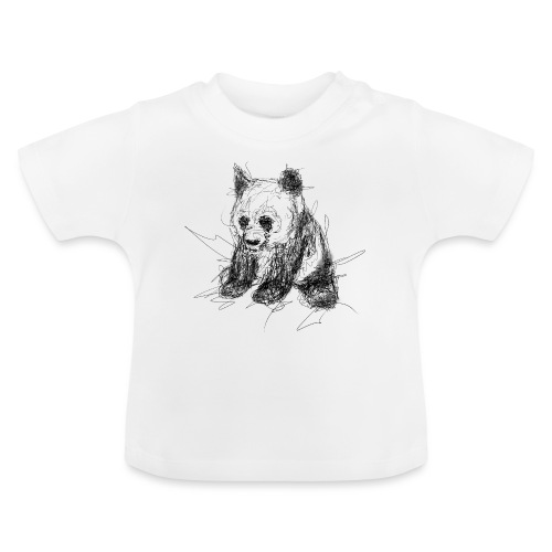 Scribblepanda - Baby T-Shirt