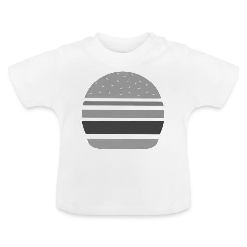 Logo_panhamburger_gris - T-shirt Bébé