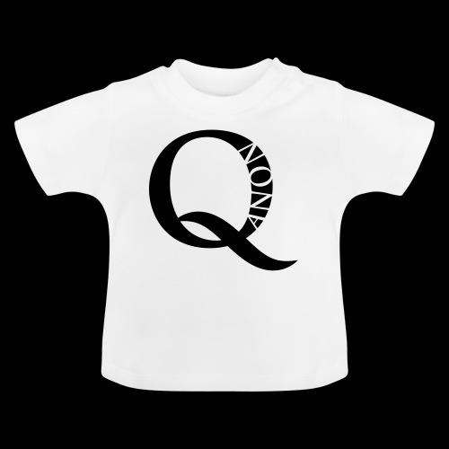 Q Anon Q-Anon Original Logo - Baby T-Shirt