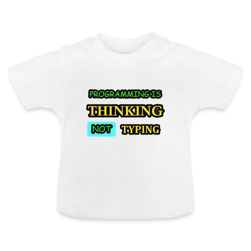 THINKING - Vauvan t-paita