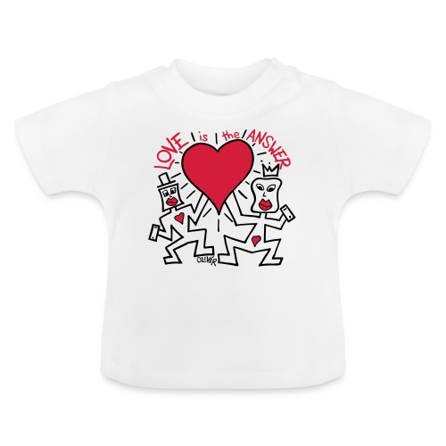 Love is the Answer by Oliver Schibli - Baby T-Shirt