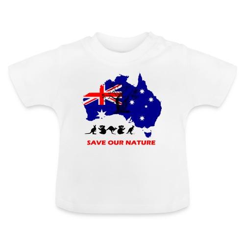 Australien - RETTE LEBEN - JETZT! - Baby T-Shirt