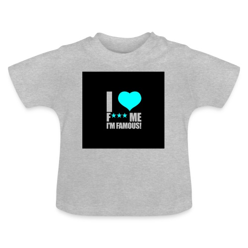 I Love FMIF Badge - T-shirt Bébé