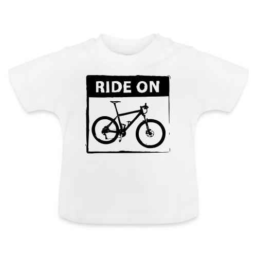Ride On MTB 1 Color - Baby T-Shirt