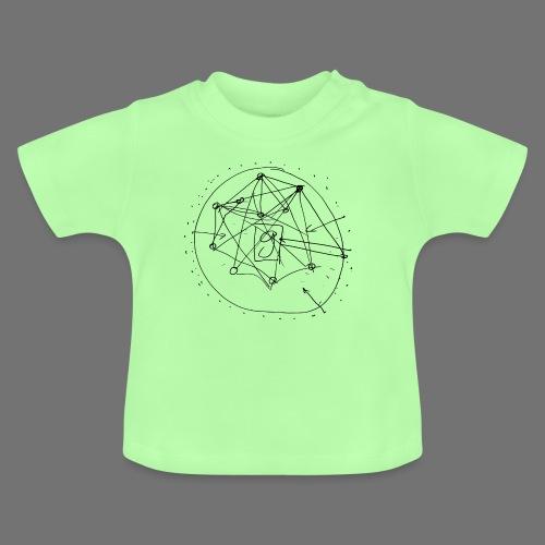 SEO strategia No.1 (musta) - Vauvan t-paita