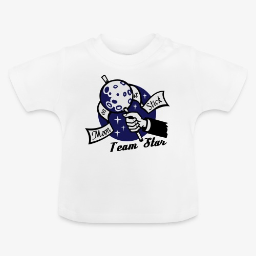 Moon on a Stick - Team Star - Baby T-Shirt