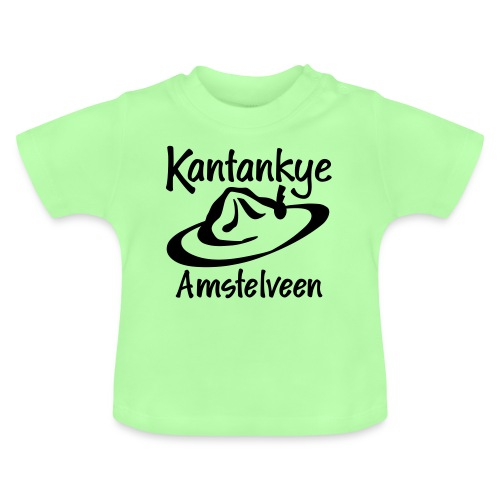logo naam hoed amstelveen - Baby T-shirt