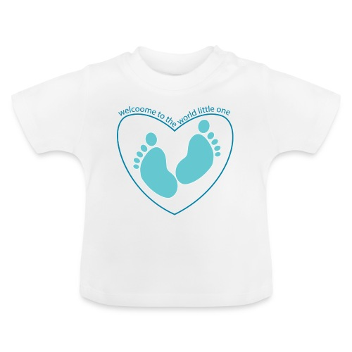 welcome to the world - Baby T-Shirt