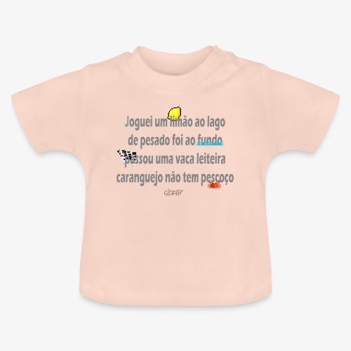 Versinho de infancia - Baby T-Shirt