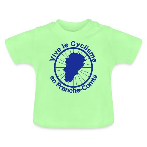 Cyclisme Franche-Comté 2 - T-shirt Bébé