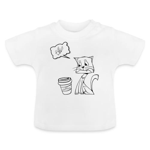 Katze Coffee Maus - Baby T-Shirt