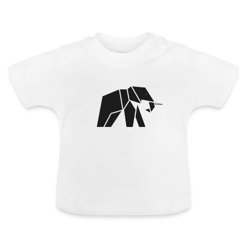 Schönes Elefanten Design für Elefanten Fans - Baby T-Shirt