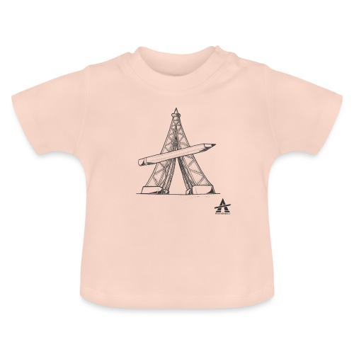 Tour Eiffel Crayon - T-shirt Bébé