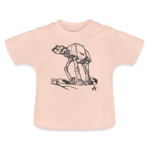 AT AT Walker ligne d'esquisse - T-shirt Bébé