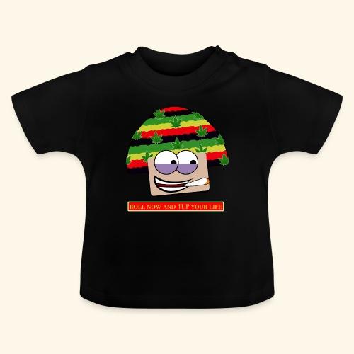 mushroom ganja-man - Maglietta per neonato