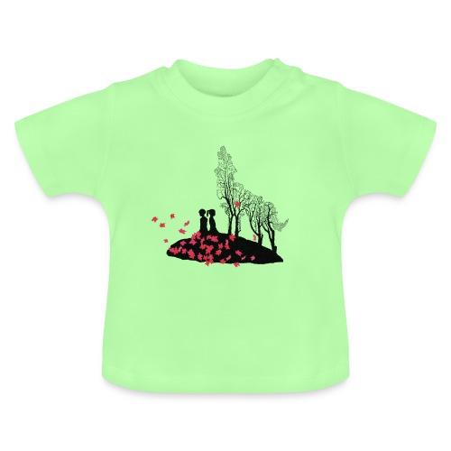 Vargmotiv - Baby-T-shirt