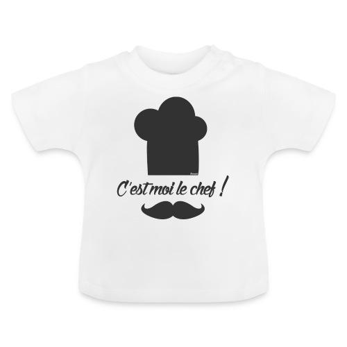Moi le chef ! (H) - T-shirt Bébé