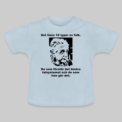 Det finns 10 Typer - Baby-T-shirt