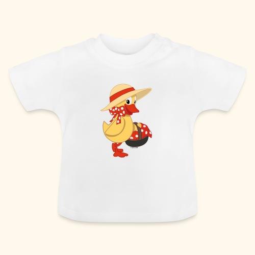 Schnatterinchen mit Korb - Baby T-Shirt