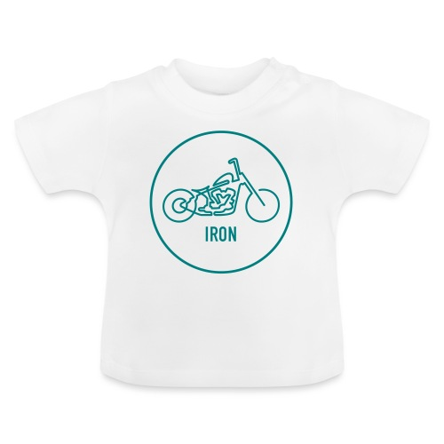 »One Line« Motorcycle - »IRON« - Baby T-Shirt