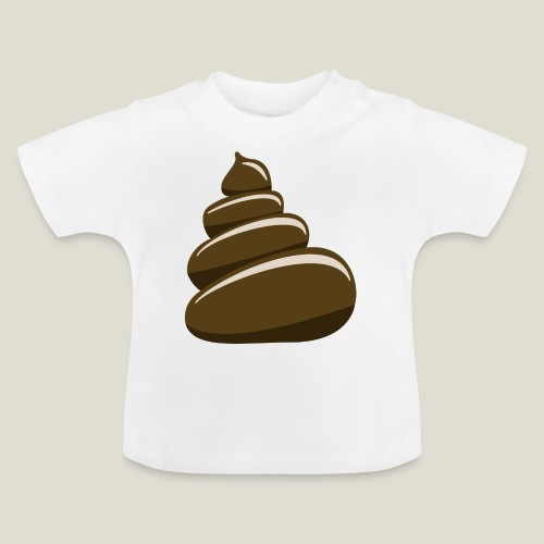 Bajskorv, Turd, Crap, Poop, Shit, Shite - Baby-T-shirt