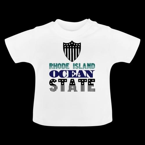 rhode island ocean state - Baby T-Shirt