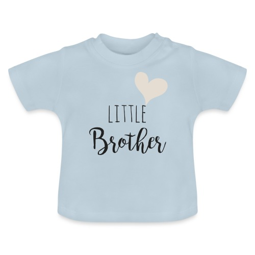 Little brother herz - Baby T-Shirt