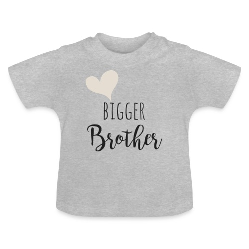 bigger brother - Baby T-Shirt