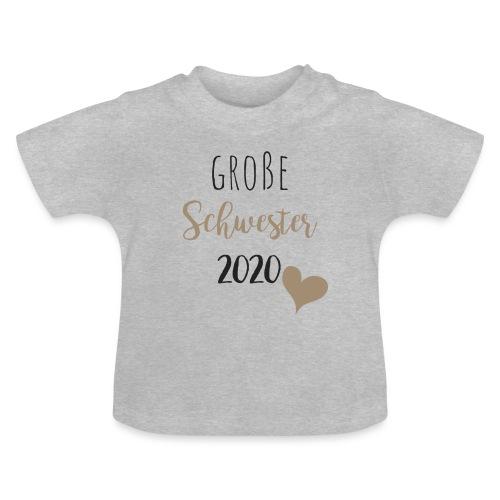 Große Schwester 2020 - Baby T-Shirt