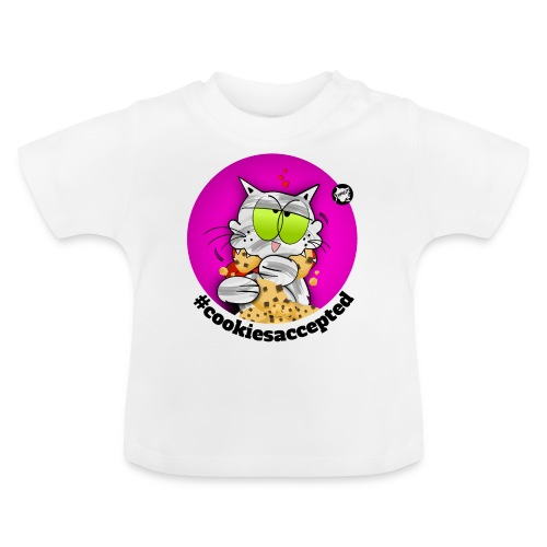 #cookiesaccepted - Baby T-Shirt